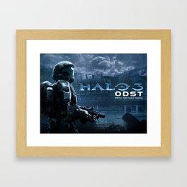 halo 3 Framed Art Print