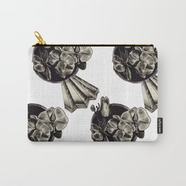 crystals and flowers Carry-All Pouch