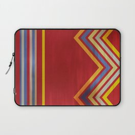 Stripes and Chevrons Ethic Pattern Laptop Sleeve
