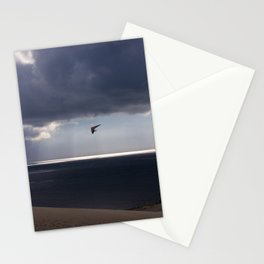 flying over the ocean Stationery Cards