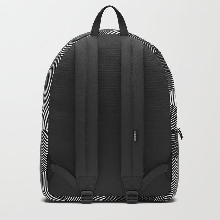 Geometric Doodle Backpack