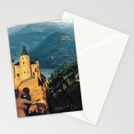 Affair Behind the Castle Stationery Cards
