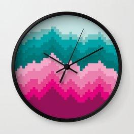 Colour Bleed Wall Clock