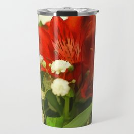 Modified - Still life with flowers Travel Mug