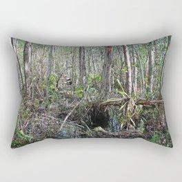 A Morning Jaunt Rectangular Pillow