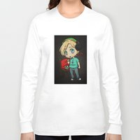 silent hill Long Sleeve T-shirts featuring Silent Pewds by CrystallineColey