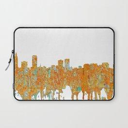 Baton Rouge Skyline - Rust Laptop Sleeve