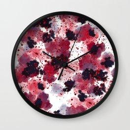 Berries Explosion #society6 #berries Wall Clock