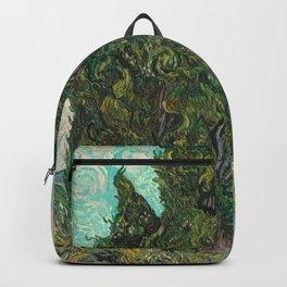 Cypresses by Vincent van Gogh Backpack