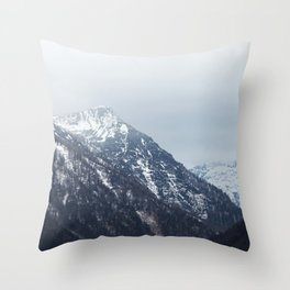 Mountains Austria Throw Pillow