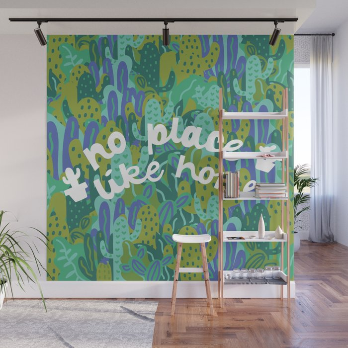 No Place Like Home Wall Mural