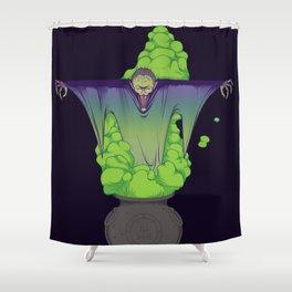 The summoning Shower Curtain