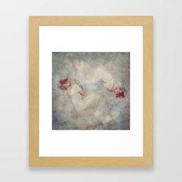 In the Garden of Endymion Framed Art Print