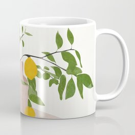 Lemon Branches Coffee Mug