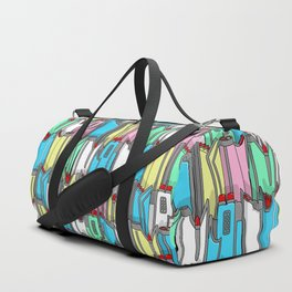 1960s classic fairy tails (tail fins) in pastel Duffle Bag