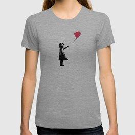 Girl With Red Balloon, Banksy, Streetart Street Art, Grafitti, Artwork, Design For Men, Women, Kids T-shirt