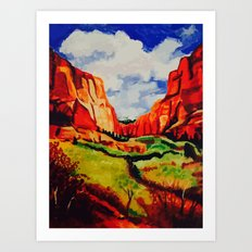 Sedona, Arizona Art Print