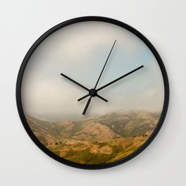 Marin Headlands Wall Clock