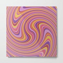 Twist and Shout-Fiesta colorway Metal Print