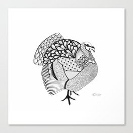 An Ode to Turkey Canvas Print