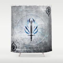Dragon Age Templar Shower Curtain