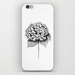Hydrangea Flower iPhone Skin