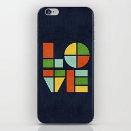 Love is iPhone Skin