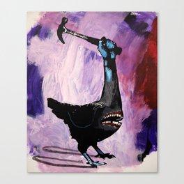 Senseless violence. 2008. Canvas Print