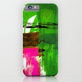 Teal Splendor No.1n by Kathy Morton Stanion iPhone Case