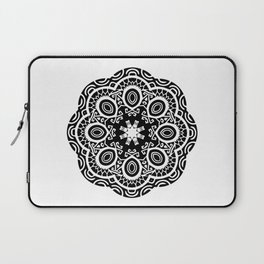 Polynesian style mandala tattoo 2 Laptop Sleeve