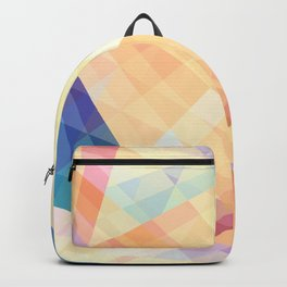 Geometrix - Colorful Abstract Art Backpack