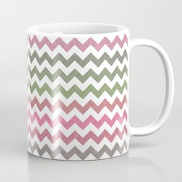 Pink Roses in Anzures 4 Chevron 2T Coffee Mug