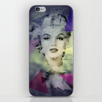 marilyn iPhone & iPod Skins featuring Marilyn by Esco