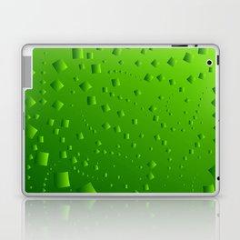 Spring mosaic of cubic lines. Laptop & iPad Skin