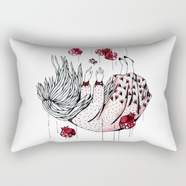 Dreaming pomegranate Rectangular Pillow