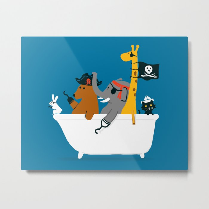 Everybody wants to be the pirate Metal Print