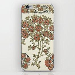 Ornate tree pattern iPhone Skin