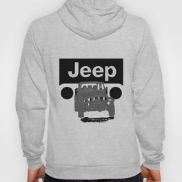 Jeep On the road Hoody