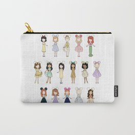 Princess Bounding Carry-All Pouch