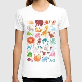 Animalphabet T-shirt