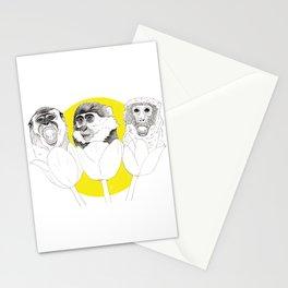 Monkeys i Tulips Stationery Cards