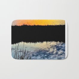 Water & Light / Bolsa Chica Wetlands Bath Mat