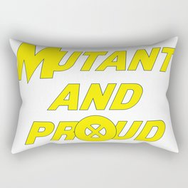 X-Men - Mutant and Proud Rectangular Pillow