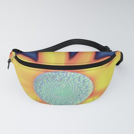 Andy  Warhola floral Fanny Pack