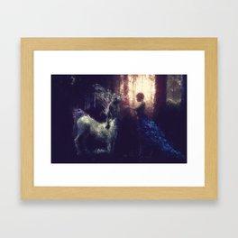 Centaur Girlfriend Framed Art Print