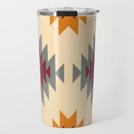 Aztec Southwestern pattern Navajo ornament Tribal Native American print Travel Mug