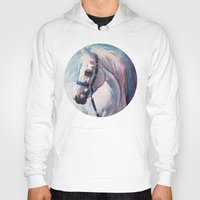 horse Hoodies featuring Horse by Slaveika Aladjova