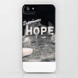 Hope Spectra B&W iPhone Case