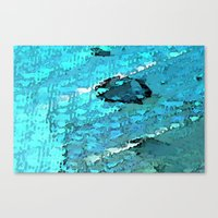 voyage Canvas Prints featuring Voyage by Paul Kimble