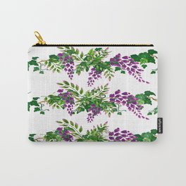 Wisteria and Ivy Carry-All Pouch